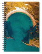 Jurassic Coast From The Air Spiral Notebook