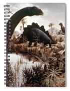 Jurassic Swamp Spiral Notebook