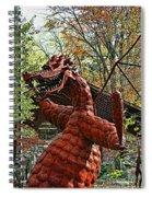 Jurustic Park - 3 Spiral Notebook