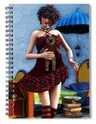 Just A Doll Spiral Notebook