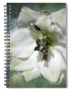 Just A Flower Spiral Notebook