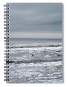 Just A Grey Day Spiral Notebook