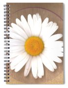 Just A Lonely Flower On Canvas Spiral Notebook
