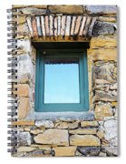 Just Another Historic Window Spiral Notebook