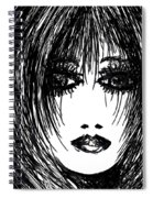 Just Another Pretty Face Spiral Notebook