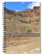 Just Around The River Bend 6 Spiral Notebook