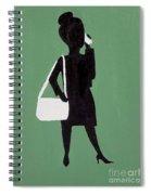Just Work Spiral Notebook