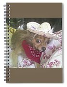 Just Because She Is A Chihuahua Spiral Notebook