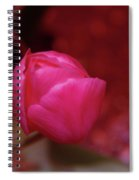 Just Before The Bloom  Spiral Notebook