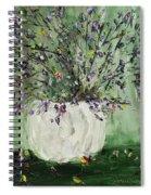 Just Beginning To Bloom Spiral Notebook