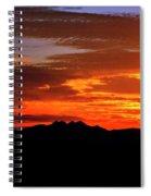 Just Beyond The Horizon Spiral Notebook