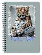 Just Chillin' Spiral Notebook