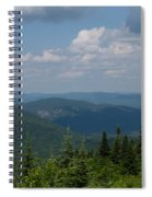 Just Climb Mountains And Breathe Deeply Spiral Notebook