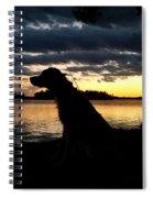 Just Fishin Spiral Notebook