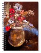 Just Flowers Spiral Notebook