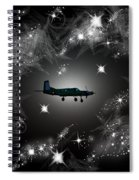 Just For Fun Through The Stars Spiral Notebook
