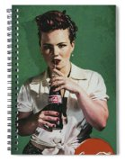 Just Like Old Times - Coca-cola Spiral Notebook