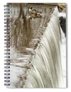 Just On The Edge Spiral Notebook