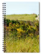 Just Over The Hill Spiral Notebook