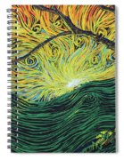 Just Over The Hill Too Spiral Notebook