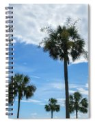 Just Palm Trees Spiral Notebook