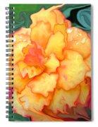 Just Peachy Spiral Notebook