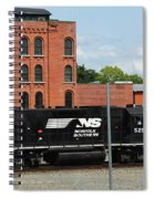 Just Plain Train Love Spiral Notebook