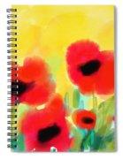 Just Poppies Spiral Notebook