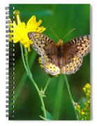 Just Us Flowers Spiral Notebook