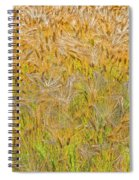 Just Wheat Spiral Notebook