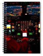 K C - 135 Stratotanker Cockpit Spiral Notebook
