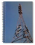 K T L A Channel 5 Spiral Notebook