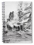 K Varnali Street Nea Erythraia  Spiral Notebook