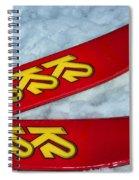 K2 Skis Spiral Notebook