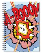 Ka-booom Spiral Notebook