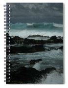 Ka Makani Kaiili Aloha Hookipa Maui Hawaii  Spiral Notebook