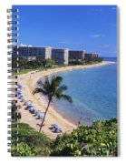 Kaanapali Beach Spiral Notebook