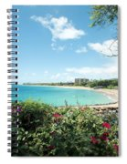 Kaanapali Maui Hawaii Spiral Notebook