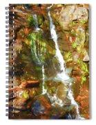 Gentle Drops Of Love Spiral Notebook