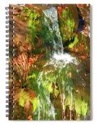 Waterfall Of Love Spiral Notebook