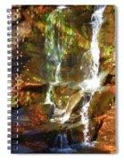 Cascading Water Spiral Notebook
