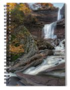 Kaaterskill Falls Autumn Square Spiral Notebook
