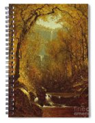 Kaaterskill Falls Spiral Notebook