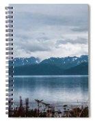 Kachemak Bay Pano Spiral Notebook