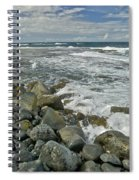 Kaena Point Shoreline Spiral Notebook