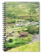 Kahakuloa Village Maui Hawaii Spiral Notebook