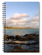 Kailua Bay Sunrise Spiral Notebook