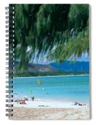 Kailua Beach Park Spiral Notebook