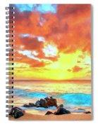 Kailua-kona Sunset Spiral Notebook