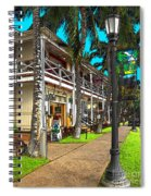 Kailua Village - Kona Hawaii Spiral Notebook